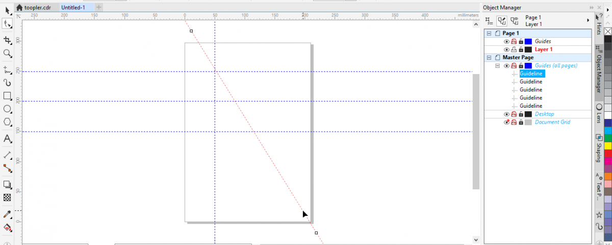 USING THE RULERS AND GUIDELINES IN CORELDRAW - First